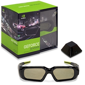 NVIDIA 3D Vision Stereoscopic Glasses Kit