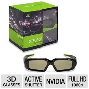 NVIDIA 3D Vision Stereoscopic Glasses Extra REFURB
