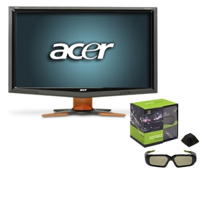 Acer GD235HZ bid 24&quot; Widescreen LCD HD Monitor Bun