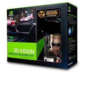 NVIDIA 3D Vision Glasses and Duke Nukem Game Kit