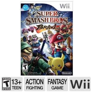 Super Smash Bros. Brawl Wii Game
