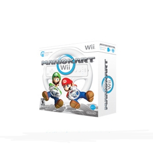 Mario Kart Wii Game With Wheel