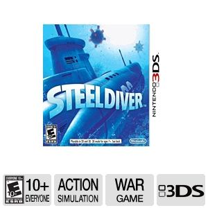 Nintendo Steel Diver Video Game for Nintendo 3DS