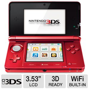"Nintendo 3DS 3.53"" LCD Display Game System"