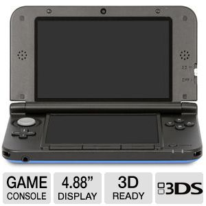 "Nintendo 3DSXL 4.88"" LCD Display Game System"
