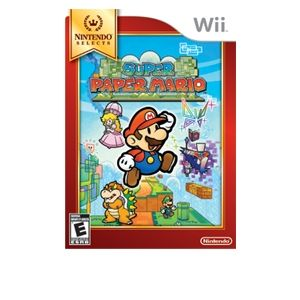 Nintendo Selects Super Paper Mario Video Game