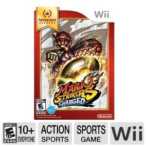 Nintendo Selects Mario Strikers Charged Video Game