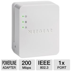 NetGear Powerline AV 200 Nano Adapter Recert