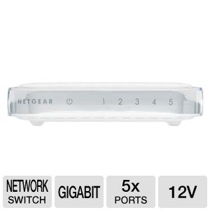 NetGear GS-605 Gigabit Ethernet Switch
