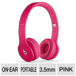 Beats Solo HD Drenched In Color Headphones - Pink