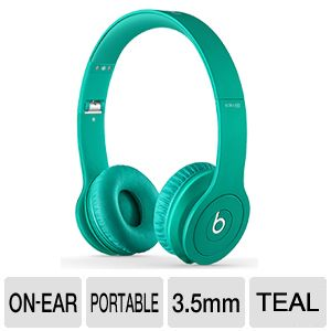 Beats Solo HD Drenched In Color Headphones - Teal