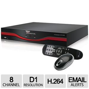 Night Owl D1 8 Channel DVR (No HDD) Refurb