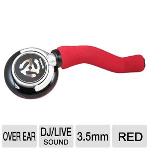 Numark Full-Range DJ Stick Headphone (Red)