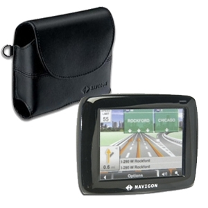 Navigon 2100 GPS Bundle With Free Leather Case