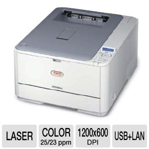OKI C330dn Digital Color Laser w/ Network & Duplex