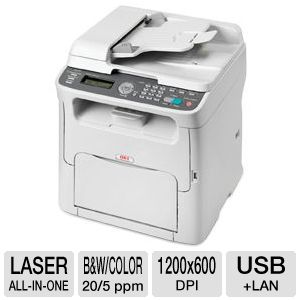 OKI MC160 Color Laser Multifunction Printer