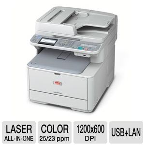 OKI MC361 Color LED All-in-One Printer