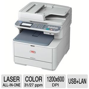 OKI MC561 Color Laser All-in-One Printer