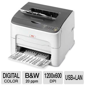 OKI C110 Color Laser Printer 