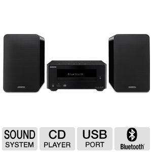 Onkyo CD Player Black Mini Sound System