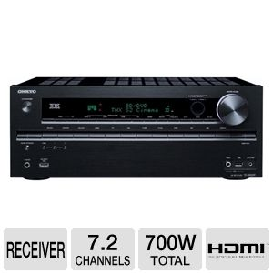 Onkyo TX-NR609 7.2 Channel Home Theater Receiver