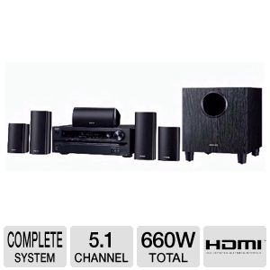 Onkyo HT-S3400 5.1 Channel Home Theater System