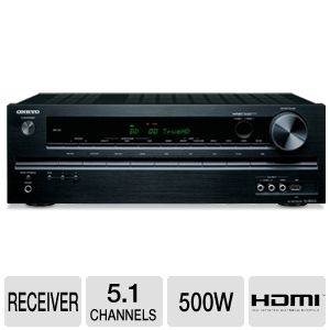Onkyo TX-SR313 5.1 Channel Home Theater Receiver