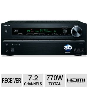 Onkyo TX-NR717 Home Theater A/V Receiver