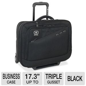 "Ogio Wheeled Business Case with 17.3"" Sleeve"