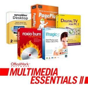 OfficeWork Multimedia Essentials Software Pack