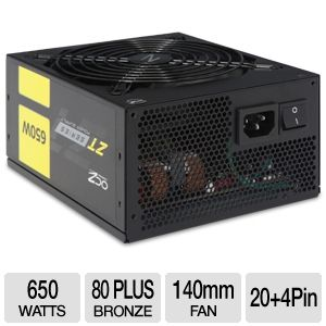 FirePower ZT Series Modular 80+ Bronze 650W PSU