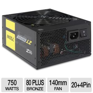 OCZ ZT Series ATX Modular 80 Plus Bronze 750W PSU