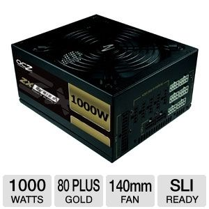 OCZ 1000W ZX Series Modular 80 Plus Gold PSU