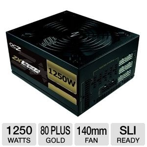 OCZ 1250W ZX Series Modular 80 Plus Gold PSU