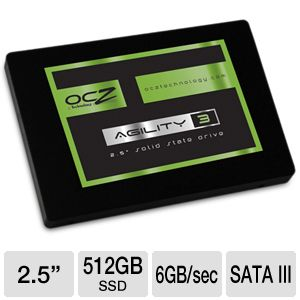 OCZ Agility 3 512GB Internal Solid State Drive
