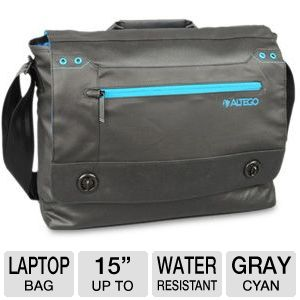 Altego Cyan Series Laptop Messenger Bag