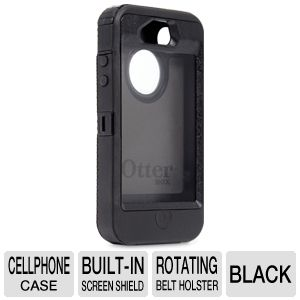 Otterbox Defender Series Black Protective Case