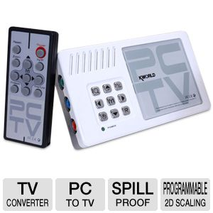 KWorld PC to TV Converter (1600 x 1200) with HDTV