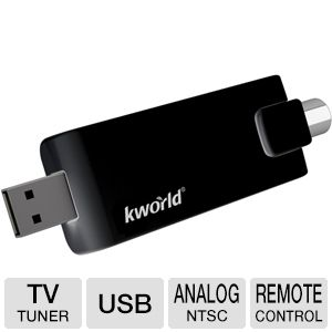 Kworld USB ATSC Hybrid TV Tuner
