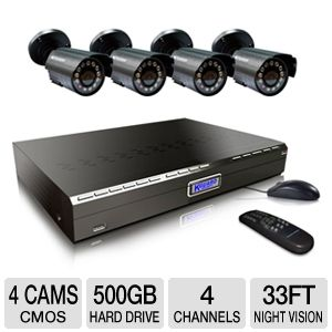 KGuard CA14-C02 All-in-One Security System
