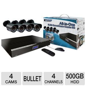 KGUARD All-in-One Series Surveillance Combo Kit