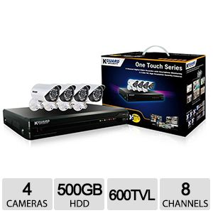KGUARD 8 Channel Surveillance System