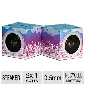 OrigAudio Flowers Fold n' Play Speakers
