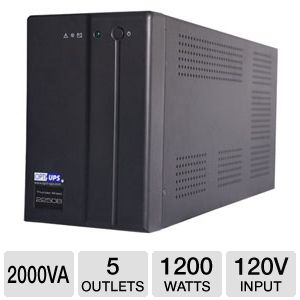 Opti-UPS 2000VA Thunder Shield Series UPS w/ AVR