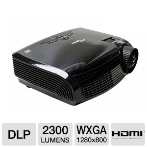 Optoma GT700 WXGA DLP Gaming Projector REFURB