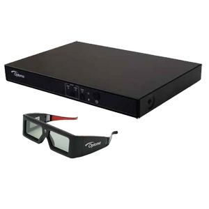 Optoma 3D-XL 3D Box Engine and 3D Glasses