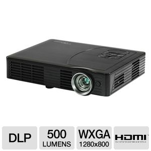 Optoma ML500 WXGA Portable DLP Projector