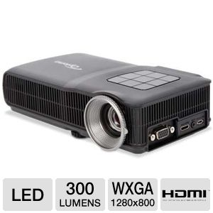 Optoma ML300 WXGA Mobile LED Projector