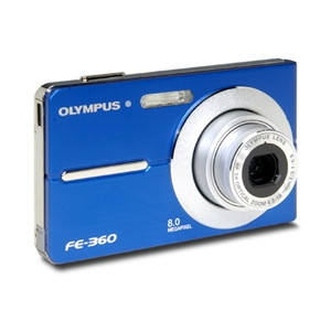 Olympus FE-360 8.0 Megapixel Digital Camera