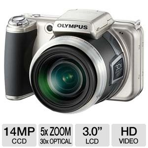 Olympus SP-800UZ 14MP Digital Camera REFURB